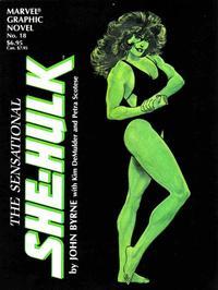 Cover for Marvel Graphic Novel (Marvel, 1982 series) #18 - The Sensational She-Hulk