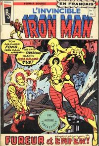 Cover Thumbnail for L'Invincible Iron Man (Editions Héritage, 1972 series) #1