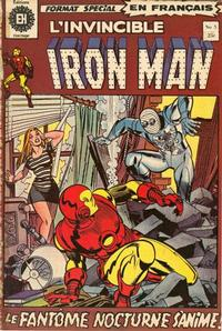 Cover Thumbnail for L'Invincible Iron Man (Editions Héritage, 1972 series) #5