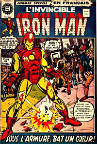 Cover Thumbnail for L'Invincible Iron Man (Editions Héritage, 1972 series) #6