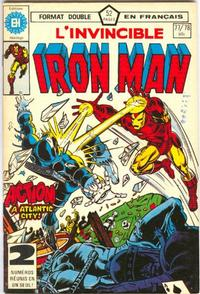 Cover Thumbnail for L'Invincible Iron Man (Editions Héritage, 1972 series) #77/78