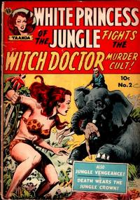 Cover Thumbnail for White Princess of the Jungle (Avon, 1951 series) #2