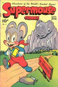 Cover for Supermouse (Pines, 1948 series) #3