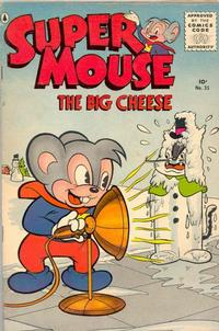 Cover Thumbnail for Supermouse, the Big Cheese (Pines, 1956 series) #35