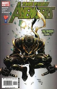 Cover Thumbnail for New Avengers (Marvel, 2005 series) #11 [Direct Edition]