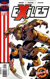 Cover Thumbnail for Exiles (Marvel, 2001 series) #71 [Direct Edition]