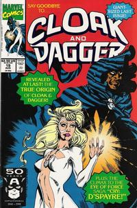 Cover Thumbnail for Cloak and Dagger (Marvel, 1990 series) #19