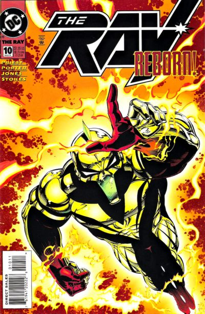 Cover for The Ray (DC, 1994 series) #10