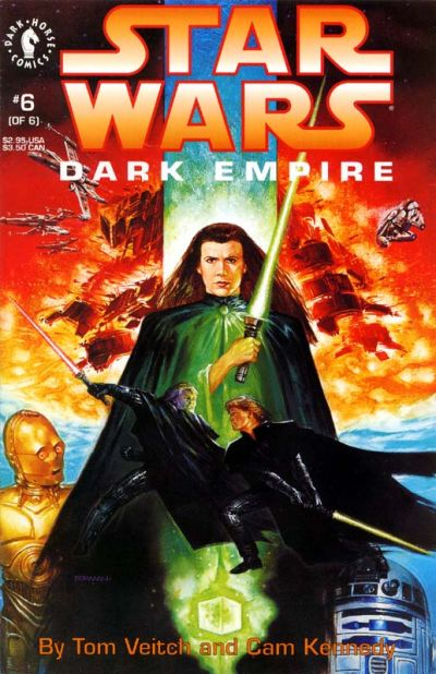 Cover for Star Wars Dark Empire (Dark Horse, 1991 series) #6