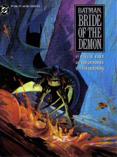 Cover for Batman: Bride of the Demon (DC, 1990 series)