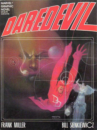Cover for Marvel Graphic Novel: Daredevil (Marvel, 1986 series)