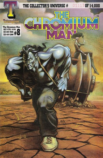 Cover for The Chromium Man (Triumphant, 1993 series) #8