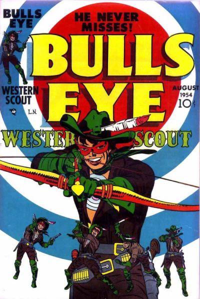 Cover for Bulls Eye (Mainline, 1954 series) #1
