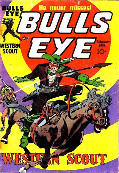 Cover for Bulls Eye (Mainline, 1954 series) #4