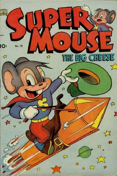 Cover for Supermouse (Pines, 1948 series) #12