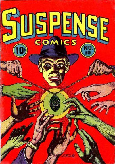 Cover for Suspense Comics (Temerson / Helnit / Continental, 1943 series) #10