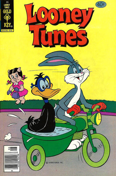 Cover for Looney Tunes (Western, 1975 series) #26 [Whitman]