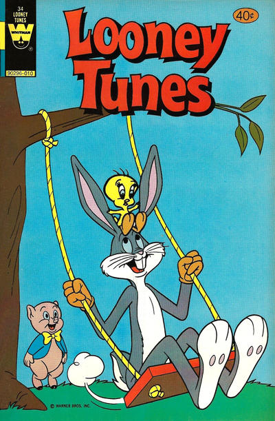 Cover for Looney Tunes (Western, 1975 series) #34