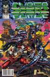 Cover Thumbnail for Cyberforce (1992 series) #1 [Newsstand]