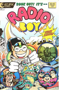 Cover Thumbnail for Radio Boy (Eclipse, 1987 series) #1