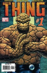 Cover Thumbnail for The Thing (Marvel, 2006 series) #1