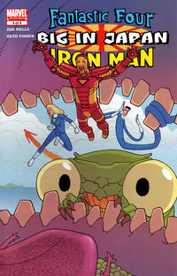 Cover Thumbnail for Fantastic Four / Iron Man: Big in Japan (Marvel, 2005 series) #4