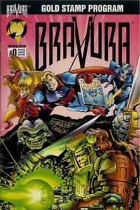 Cover Thumbnail for Bravura (Malibu, 1995 series) #0 [Regular edition]