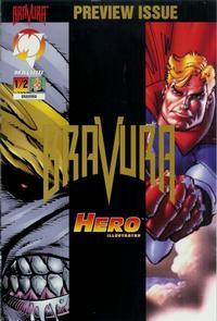 Cover Thumbnail for Bravura (Malibu, 1995 series) #1/2 [Gold Edition]