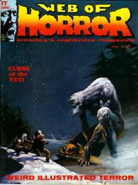 Cover Thumbnail for Web of Horror (Major Magazines, 1969 series) #3