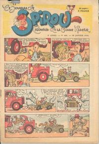 Cover Thumbnail for Le Journal de Spirou (Dupuis, 1938 series) #404