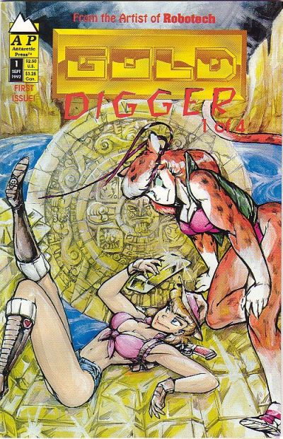 Cover for Gold Digger (Antarctic Press, 1992 series) #1