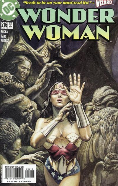 Cover for Wonder Woman (DC, 1987 series) #216