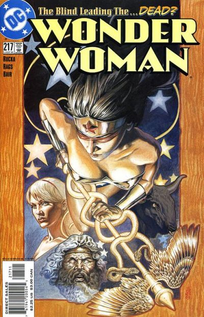 Cover for Wonder Woman (DC, 1987 series) #217