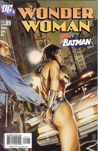 Cover for Wonder Woman (DC, 1987 series) #220