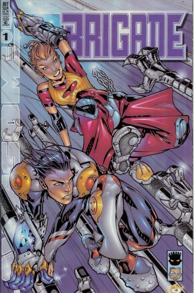 Cover for Brigade (Awesome, 2000 series) #1