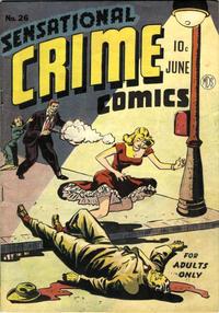 Cover Thumbnail for Sensational Crime Comics (Pioneer Publications, 1948 series) #26