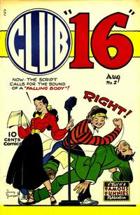 Cover Thumbnail for Club 16 Comics (Eastern Color, 1948 series) #2