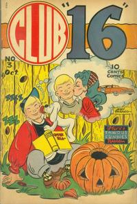 Cover Thumbnail for Club 16 Comics (Eastern Color, 1948 series) #3
