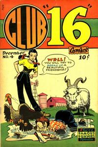 Cover Thumbnail for Club 16 Comics (Eastern Color, 1948 series) #4