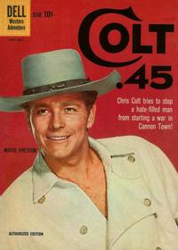 Cover Thumbnail for Colt .45 (Dell, 1960 series) #5