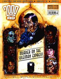 Cover Thumbnail for 2000 AD (Rebellion, 2001 series) #1443