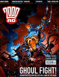 Cover Thumbnail for 2000 AD (Rebellion, 2001 series) #1444