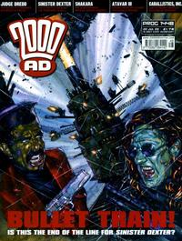 Cover Thumbnail for 2000 AD (Rebellion, 2001 series) #1448