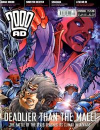 Cover Thumbnail for 2000 AD (Rebellion, 2001 series) #1449