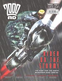 Cover Thumbnail for 2000 AD (Rebellion, 2001 series) #1457