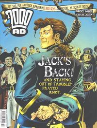 Cover Thumbnail for 2000 AD (Rebellion, 2001 series) #1460