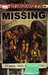 Cover Thumbnail for Runaways (Marvel, 2003 series) #18