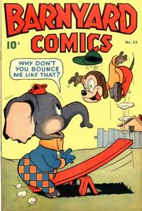 Cover Thumbnail for Barnyard Comics (Pines, 1944 series) #13