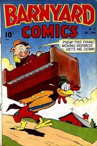 Cover Thumbnail for Barnyard Comics (Pines, 1944 series) #21