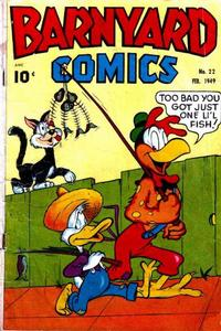 Cover Thumbnail for Barnyard Comics (Pines, 1944 series) #22